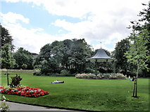 NZ3956 : Bandstand - Mowbray Park by R J McNaughton