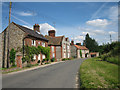 TG0539 : Houses along Blakeney Road, Letheringsett by Zorba the Geek