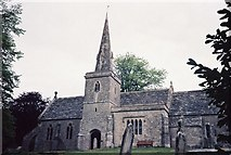 SY5889 : Littlebredy: parish church of St. Michael & All Angels by Chris Downer
