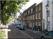 TQ7668 : Prospect Row, Brompton (1) by Danny P Robinson