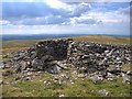 SN7361 : Summit shelter on Garn Gron by Rudi Winter