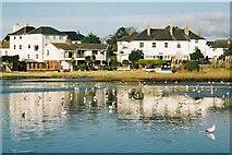 SZ1892 : Mudeford: harbourside properties by Chris Downer