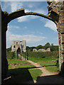 TG1238 : Baconsthorpe Castle by Evelyn Simak