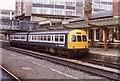 SE3055 : Harrogate Railway Station, 1983 by Anthony Eden