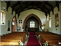 SD1096 : Interior, St Michael and All Angels Church, Muncaster by Alexander P Kapp
