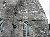 O2142 : Stone Roof on St. Doolagh's Church by Harold Strong