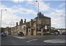 SE1527 : The Junction, Huddersfield Road, Wyke by Humphrey Bolton