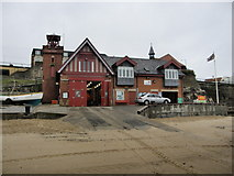 NZ3671 : Cullercoats Lifeboat Station from Front by R J McNaughton