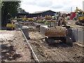 SJ3024 : Abutments for a new lift bridge by John Haynes