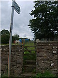 NY7810 : Winton stile by William Metcalfe