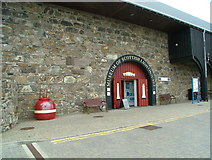 NJ9967 : Museum of Scottish Lighthouses entrance by Nick Mutton