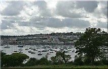 SW8032 : Falmouth Harbour and Town by mike hancock