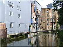 SP9213 : The Wendover Arm, Heygates flour mill by David Sands