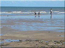 SH8678 : Colwyn Bay beach by Eirian Evans