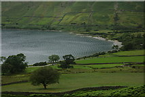 NY1807 : Northern shore of Wastwater by Philip Halling