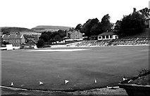 SD8122 : Rawtenstall Cricket Club - Bacup Road by Betty Longbottom