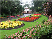 NS5367 : Fossil Grove gardens at Victoria Park by Chris Wimbush