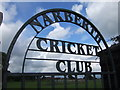 SN1114 : Narberth Cricket Club and sportsground by ceridwen