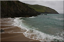 V3198 : Sandy beach on Dunmore Head by Philip Halling