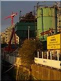 TQ2575 : Pier Wharf, Wandsworth by Derek Harper
