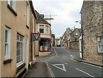 SO8700 : Crossroads, Minchinhampton by Margaret Sutton