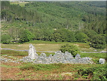 SH7123 : Ruins of the miners' barracks at Cefn Coch Gold Mine by Eric Jones