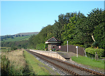 SD7920 : Irwell Vale Station by michael ely