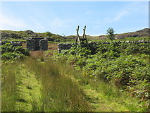 SH7123 : The track to Cefn Coch Gold Mine by Eric Jones