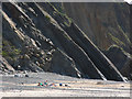 SM7807 : Cliffs at Marloes Sands by Chris Gunns