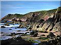 SM7707 : Raggle Rocks at Marloes Sands by Chris Gunns