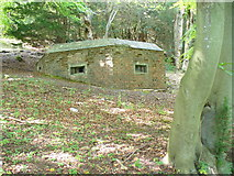 TQ1148 : Pill Box in the Woods by Colin Smith