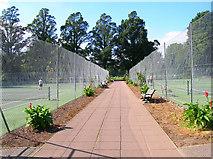 TQ3005 : Tennis Courts, Preston Park by Simon Carey
