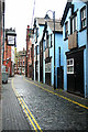 SO9198 : Princess Alley leading to Princess St. , Wolverhampton by Shenk and Trish