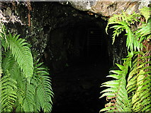 SH7123 : Into the darkness - an adit at Cefn Coch Gold Mine by Eric Jones