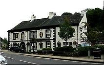 SD9323 : The Golden Lion - Rochdale Road by Betty Longbottom