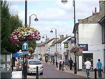 TM0458 : Ipswich Street, Stowmarket by Andrew Hill