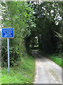 TG2933 : Quiet Lane connecting Knapton Road (B1145) with Hall Lane by Evelyn Simak
