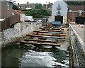 SY6878 : Weymouth - Boat Repair Yard by Chris Talbot