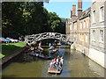 TL4458 : Mathematical Bridge, Queens' College. by Oxyman