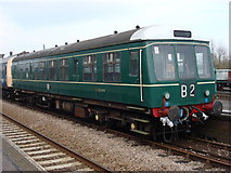 TL8928 : E 50599 at Chappel & Wakes Colne Railway Station by Oxyman