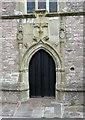 SS8377 : St John the Baptist, Newton, Glamorgan, Wales - Doorway by John Salmon