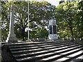 NZ3181 : Blyth War Memorials by R J McNaughton