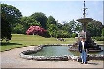 SX0371 : Garden Pencarrow by Annette Randle