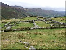 NY2101 : Hardknott Castle Roman Fort - The Principia by Rob Farrow