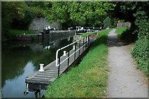 ST7264 : Weston Lock, Bath by Philip Halling