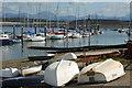 SH3834 : Harbwr Pwllheli Harbour by Alan Fryer