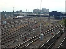 TQ2182 : Old Oak Common Railway Maintenance Depot by Oxyman