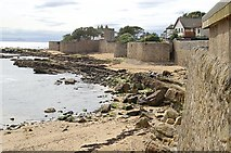 NO5603 : Sea Walls Wester Anstruther by Jim Bain