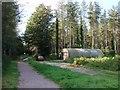 TL8096 : Nissen Hut in Shakers Wood by Lisa Wild