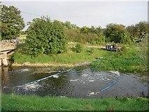 TL4279 : River aeration by Hugh Venables